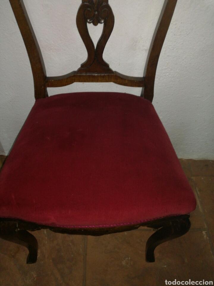 Antigüedades: Antigua silla descalzadora - Foto 4 - 120425260