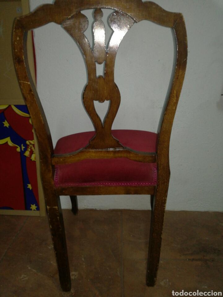 Antigüedades: Antigua silla descalzadora - Foto 5 - 120425260