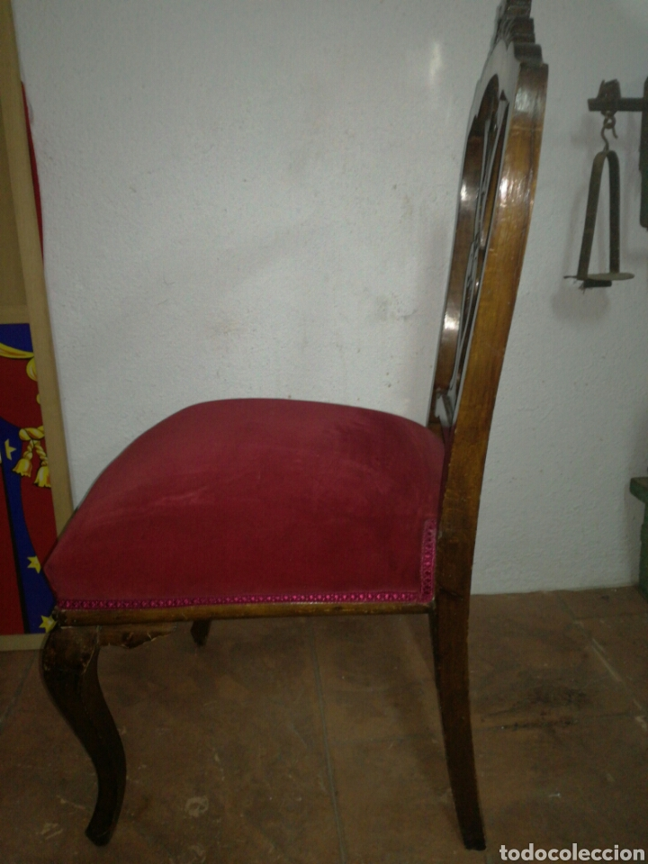 Antigüedades: Antigua silla descalzadora - Foto 6 - 120425260