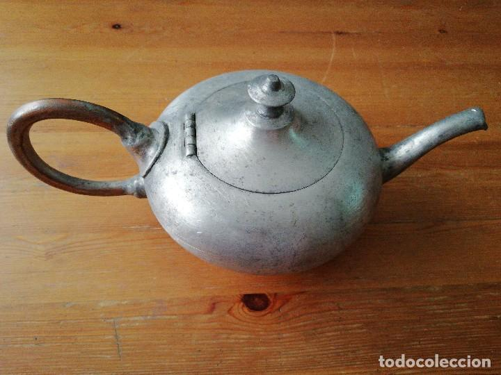 TETERA DE HIERRO (Antigüedades - Técnicas - Rústicas - Utensilios del Hogar)