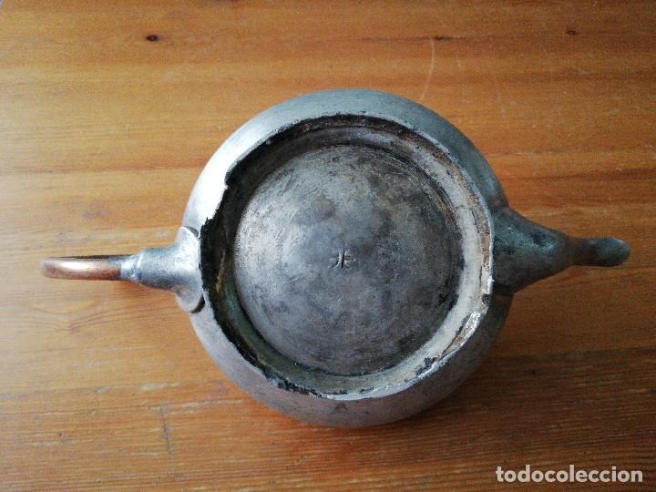 Antigüedades: Tetera de hierro - Foto 7 - 119088427
