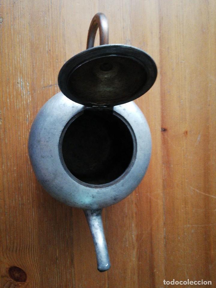 Antigüedades: Tetera de hierro - Foto 5 - 119088427