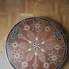 Antigüedades: TABLERO DE MESA TARACEADO ÁRABE . Lote 119090131