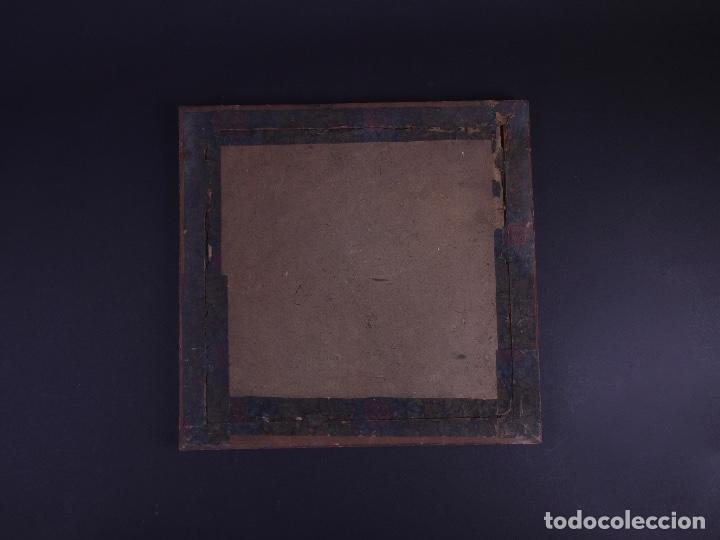 Antigüedades: RETRATO GRUPO DE JOVENES DE ROMERIA CAMPESTRE, FOTO Y MARCO DE EPOCA - Foto 3 - 119104163