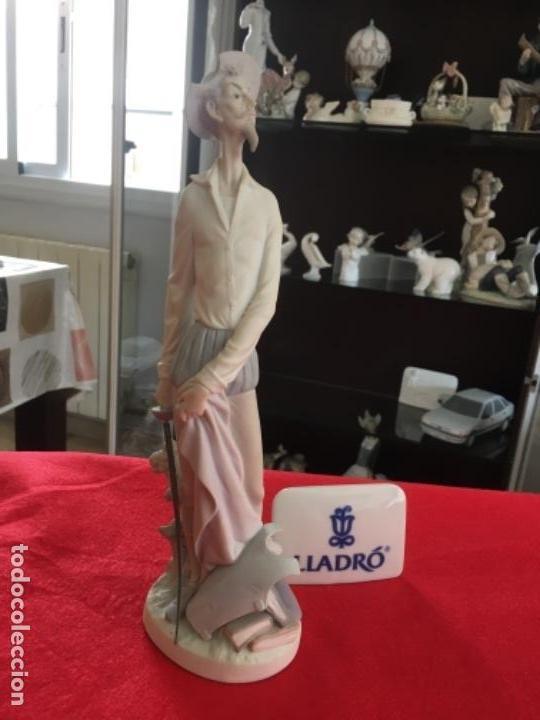 QUIJOTE DE PORCELANA FINA DE LLADRO (Antigüedades - Porcelanas y Cerámicas - Lladró)