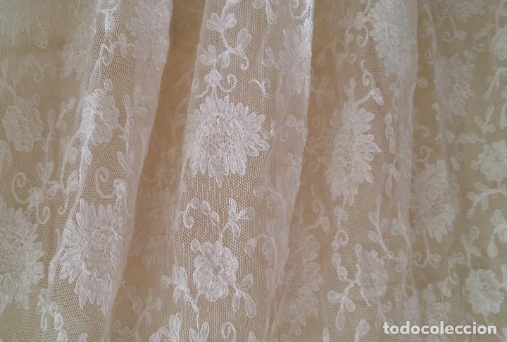 Antigüedades: Autentico vestido de encaje Art Deco - americano - Foto 11 - 119176455