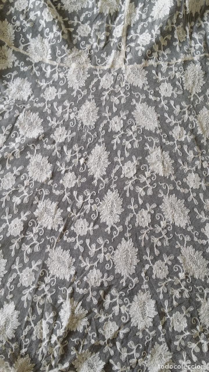 Antigüedades: Autentico vestido de encaje Art Deco - americano - Foto 12 - 119176455