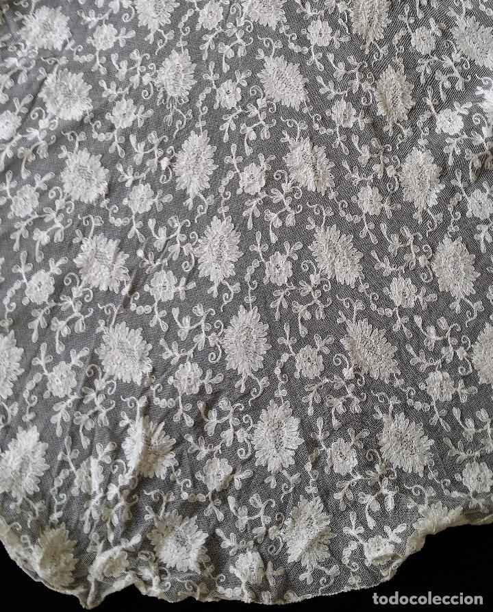 Antigüedades: Autentico vestido de encaje Art Deco - americano - Foto 13 - 119176455