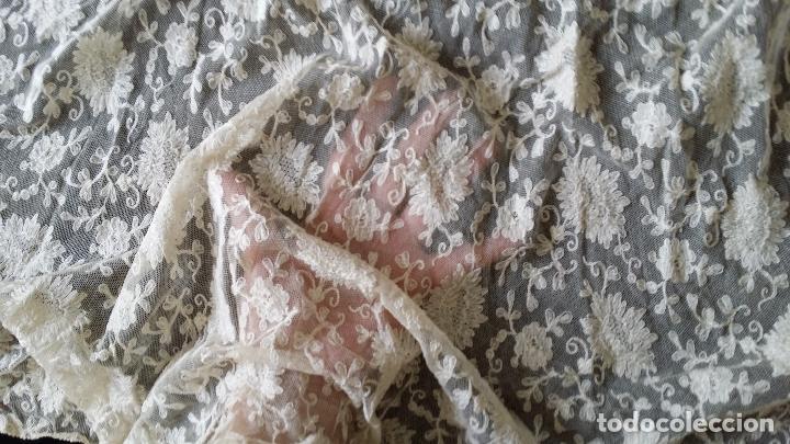 Antigüedades: Autentico vestido de encaje Art Deco - americano - Foto 14 - 119176455