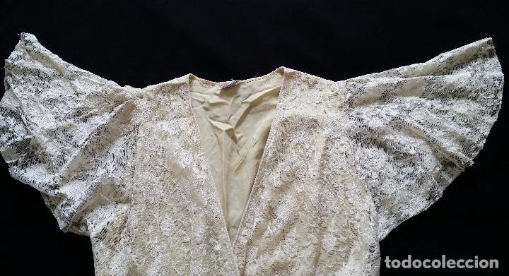 Antigüedades: Autentico vestido de encaje Art Deco - americano - Foto 16 - 119176455
