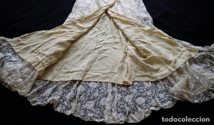 Antigüedades: Autentico vestido de encaje Art Deco - americano - Foto 23 - 119176455