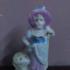 Antigüedades: ANTIGUA FIGURA PALILLERO BISCUIT. Lote 119201131