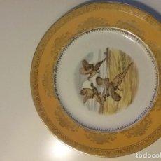 Antigüedades: PLATO DECORADO SAN CLAUDIO. Lote 119231767