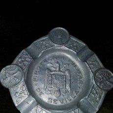 Antigüedades: CENICERO MILITAR. Lote 119241003