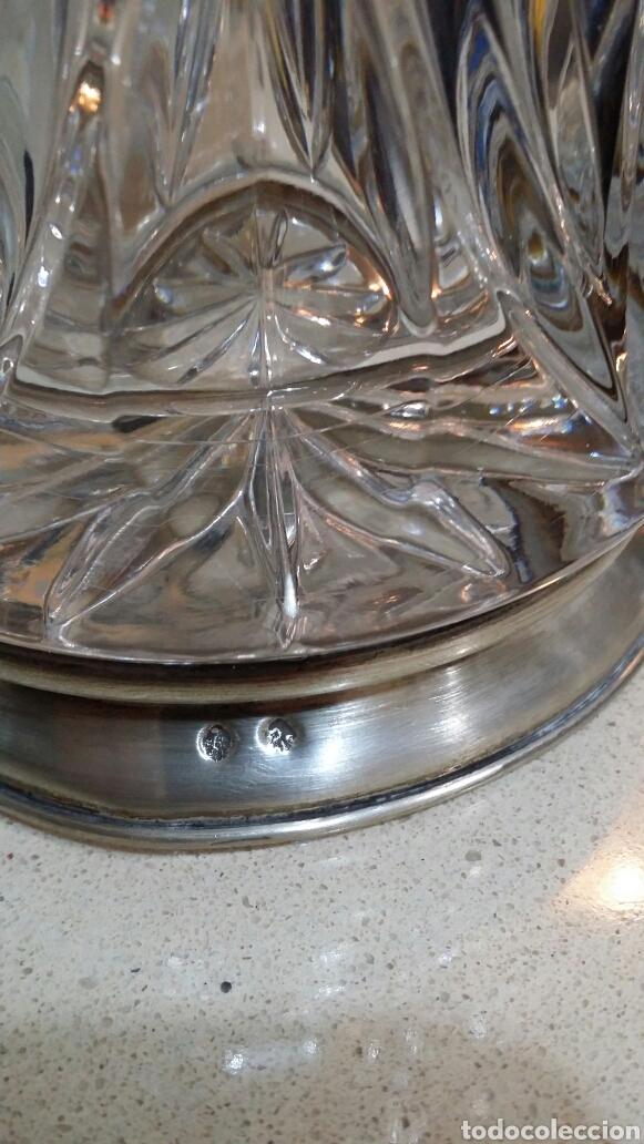 Antigüedades: Jarrón de cristal tallado - Foto 2 - 119241847
