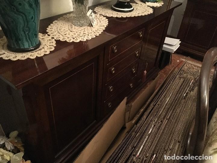 Antigüedades: Aparador de Meketillas ,en perfecto estado muy cuidado como nuevo incluido espejo - Foto 3 - 119271479