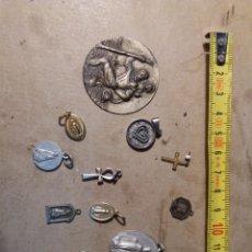 Antigüedades: LOTE MEDALLITAS. Lote 143751988