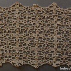 Antiquitäten - ANTIGUO ENCAJE DE CROCHET .S.XIX - 119280675
