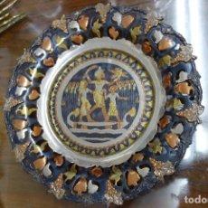 Antigüedades: PLATO EGIPCIO ECHO EN COBRE . Lote 119285935