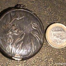Antigüedades: PRECIOSA POLVERA MODERNISTA DE PEQUEÑAS DIMENSIONES. Lote 119297399