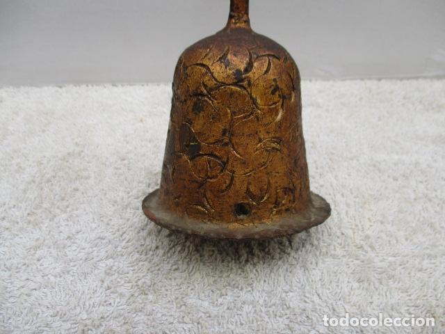 Antigüedades: ANTIGUO CRUCIFIJO DE HIERRO EN FORJA TRABAJADO A MANO - 51 cm de altura. - Foto 8 - 119324727