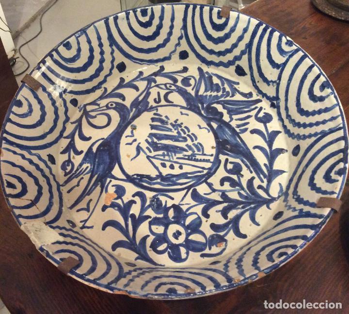 LEBRILLO DE GRANADA S. XIX (Antigüedades - Porcelanas y Cerámicas - Fajalauza)