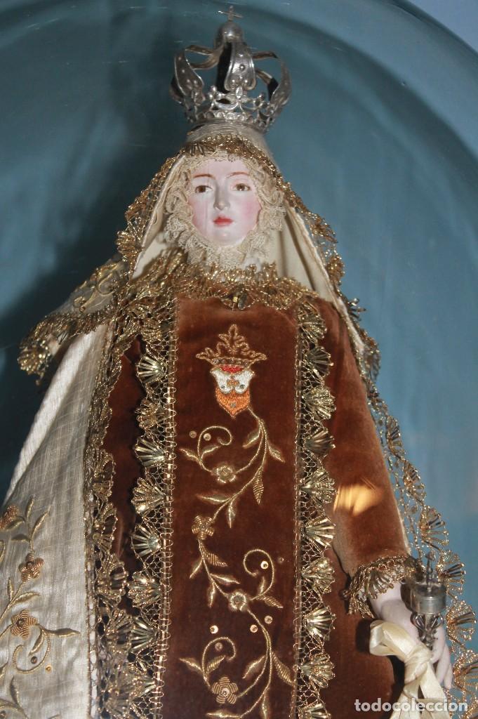 Antigüedades: Virgen del Carmen - Foto 2 - 119354151