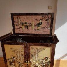 Antigüedades: APARADOR ESTILO CHINO . Lote 119362263