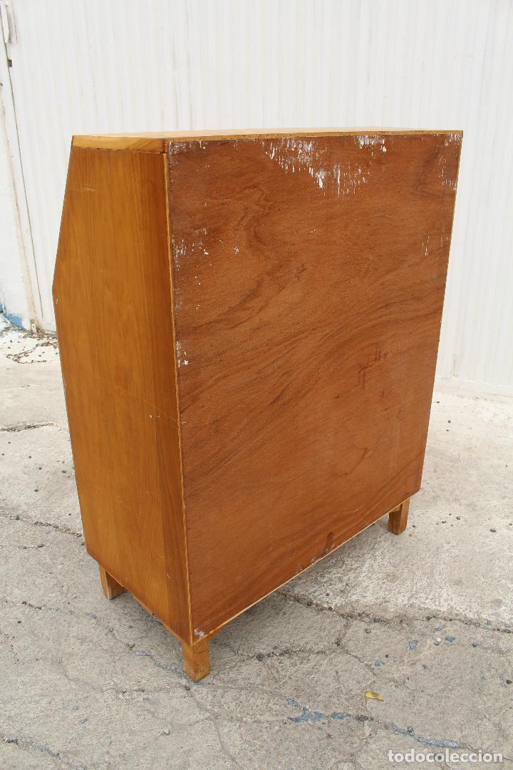 Antigüedades: mueble escritorio en madera de roble - Foto 2 - 119409303