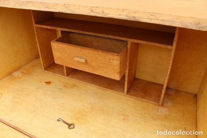 Antigüedades: mueble escritorio en madera de roble - Foto 5 - 119409303