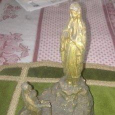 Antigüedades: ESCULTURA VIRGEN DE LOURDES.SIGLO XIX. Lote 119424031