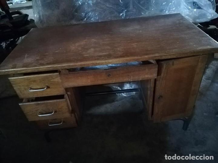 mesa oficina despacho escritorio industrial mad - Comprar ...