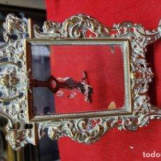 Antigüedades: MARCO DE BRONCE DE MEDIADOS DEL SIGLO XX. Lote 119479831