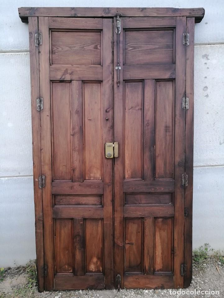 Antigüedades: Puerta antigua de interior - Foto 2 - 119482675