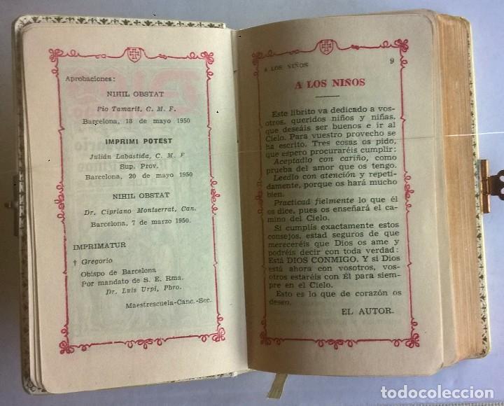 Antigüedades: ANTIGUO MISAL DEVOCIONARIO PARA NIÑOS DE PRIMERA COMUNIÓN - Foto 11 - 119489179