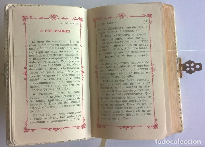 Antigüedades: ANTIGUO MISAL DEVOCIONARIO PARA NIÑOS DE PRIMERA COMUNIÓN - Foto 12 - 119489179