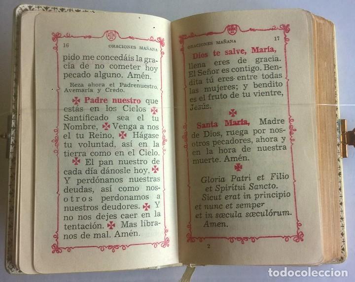 Antigüedades: ANTIGUO MISAL DEVOCIONARIO PARA NIÑOS DE PRIMERA COMUNIÓN - Foto 15 - 119489179