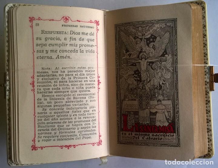Antigüedades: ANTIGUO MISAL DEVOCIONARIO PARA NIÑOS DE PRIMERA COMUNIÓN - Foto 16 - 119489179