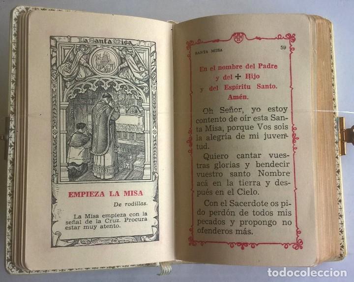 Antigüedades: ANTIGUO MISAL DEVOCIONARIO PARA NIÑOS DE PRIMERA COMUNIÓN - Foto 18 - 119489179