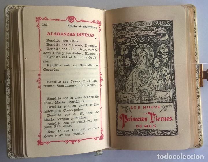 Antigüedades: ANTIGUO MISAL DEVOCIONARIO PARA NIÑOS DE PRIMERA COMUNIÓN - Foto 21 - 119489179