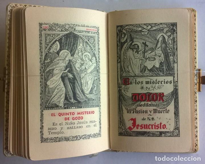 Antigüedades: ANTIGUO MISAL DEVOCIONARIO PARA NIÑOS DE PRIMERA COMUNIÓN - Foto 23 - 119489179