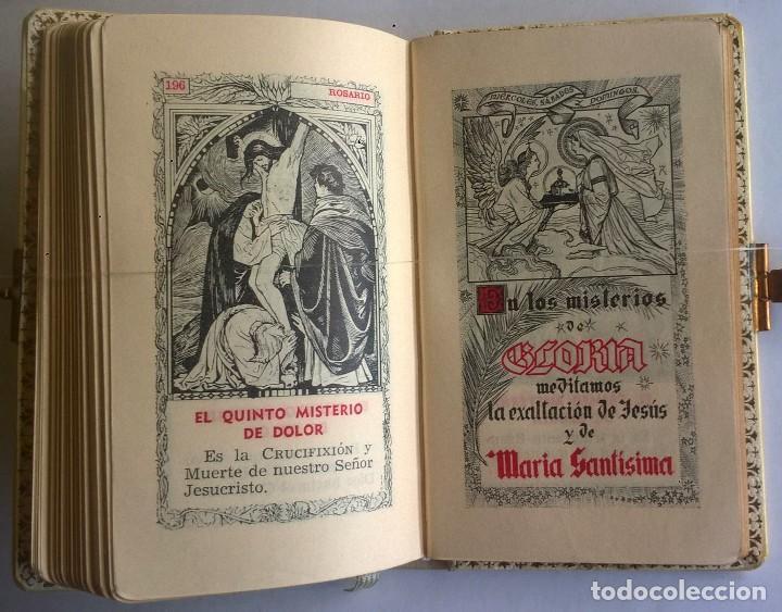 Antigüedades: ANTIGUO MISAL DEVOCIONARIO PARA NIÑOS DE PRIMERA COMUNIÓN - Foto 24 - 119489179