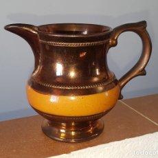 Antigüedades: JARRA BRISTOL REFLEJO METÁLICO. Lote 119554651
