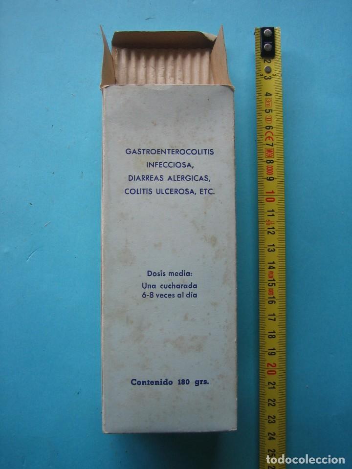 Antigüedades: FARMACIA - ANTIGUO FRASCO ENTERO PIRISTINA ERBA JARABE + ENVASE CAJA DE CARTON - 17 CM - VER FOTOS - Foto 6 - 119559259