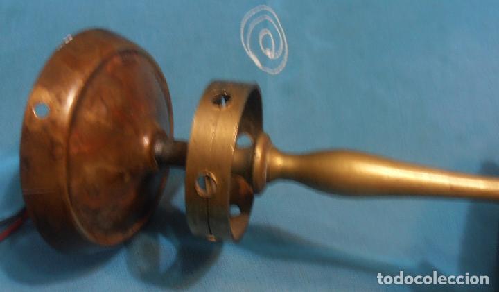 Antigüedades: LAMPARA DE TECHO DE UNASOLA LUZ, ANTIGUA - Foto 5 - 119581287