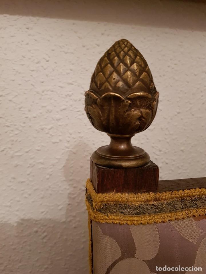 Antigüedades: Sillón frailero de roble. - Foto 4 - 119584643