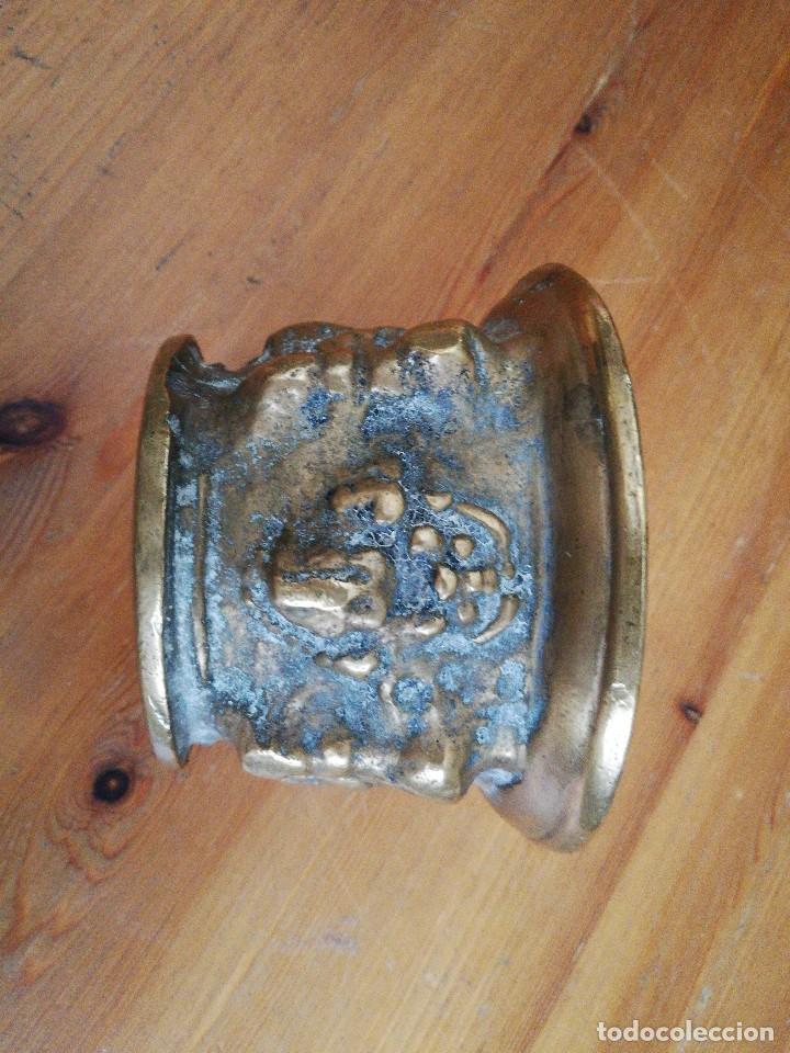 Antigüedades: Almirez de bronce - Foto 3 - 119629939