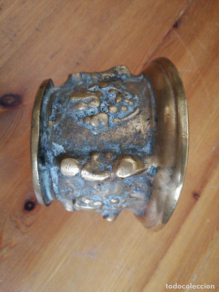 Antigüedades: Almirez de bronce - Foto 4 - 119629939