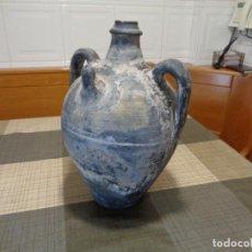 Antigüedades: ANTIGUO CANTARA O CANTARO CERAMICA VERDU. Lote 119647727
