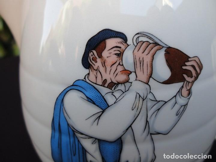 Antigüedades: Cerámica vasca, dibujo original con firma del pintor vasco José Arrue - Foto 3 - 119648711
